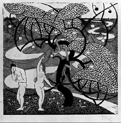 LW49-MC-Escher-The-Fall-of-Men-1920